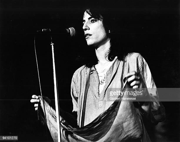 Patti Smith performs live at The Paradiso in Amsterdam Netherlands on October 09 1976