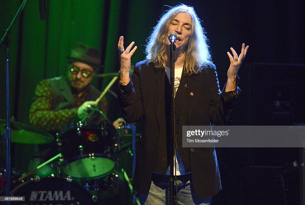 Patti Smith Performs In Concert : News Photo