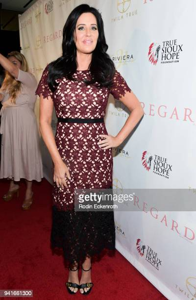 Patti Stanger attends Regard Magazine Spring 2018 Cover Unveiling Party presented by Sony Studios featuring the cast of 'The Oath' on Crackle at...