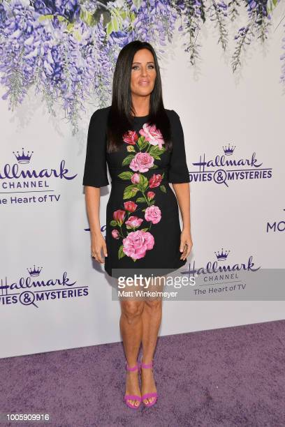 Patti Stanger attends the 2018 Hallmark Channel Summer TCA at Private Residence on July 26 2018 in Beverly Hills California