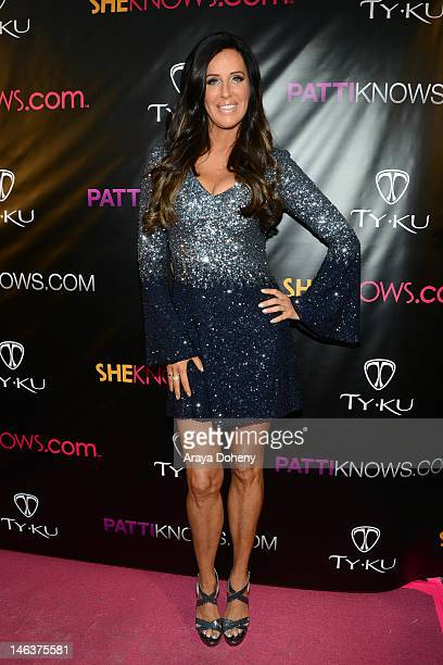 Patti Stanger attends the Bravo's Millionaire Matchmaker Patti Stanger Private Birthday Celebration at Koi Restaurant and Lounge on June 14 2012 in...