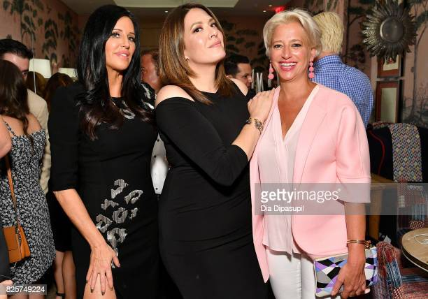 Patti Stanger, Michelle Collins and Dorinda Medley attend WE tv's Exclusive Premiere of Million Dollar Matchmaker Season 2 at the Whitby Hotel on...