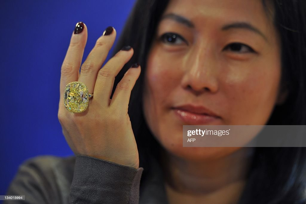 Patti Wong, Chairman of Sotheby's Asia w : News Photo