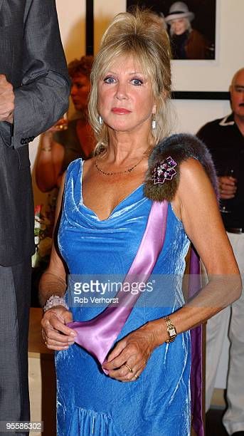 Pattie Boyd, former wife of George Harrison and Eric Clapton, poses at an exhibition at V!PS Gallery on September 8th 2005 in Rotterdam, Netherlands.