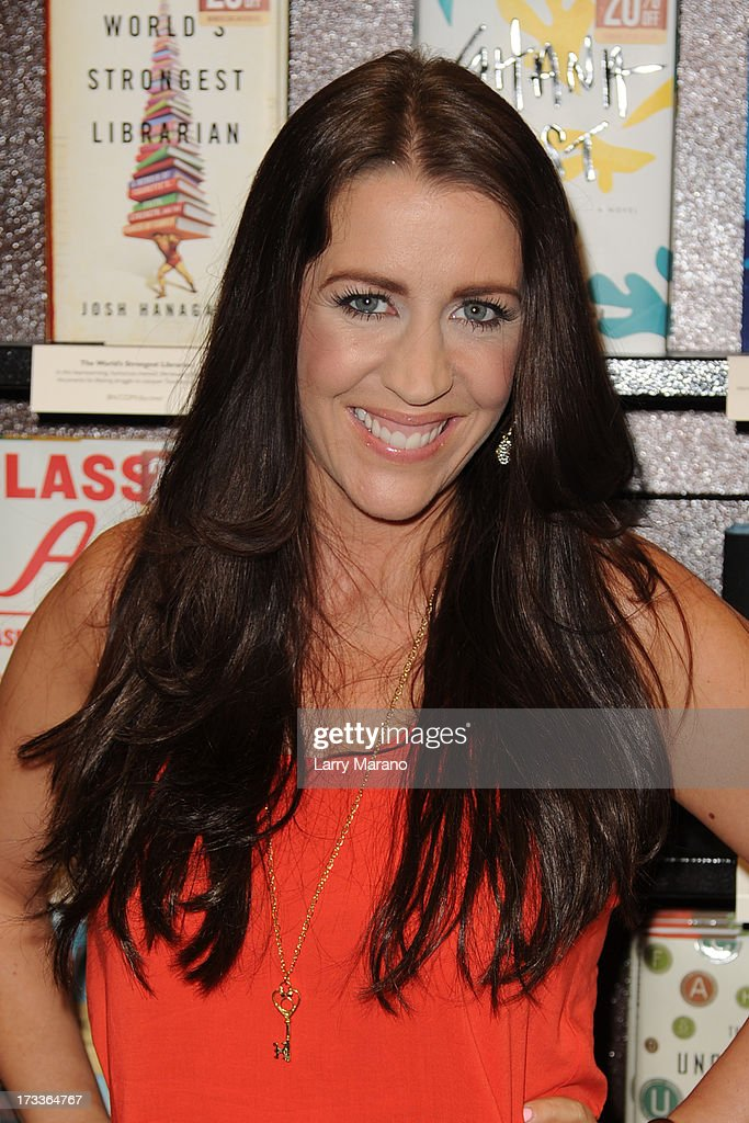 Pattie Mallett signs copies of 'Nowhere But Up' at Barnes & Noble on July 12, 2013 in Fort Lauderdale, Florida.