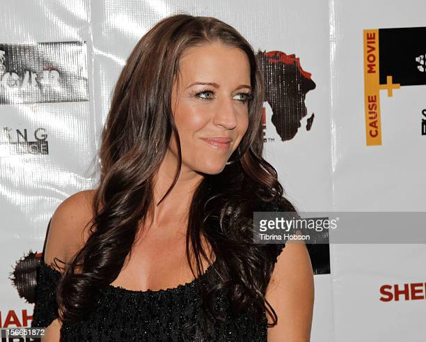 Pattie Mallette attends the Shekinah Tribe charity film fundraiser at Writers Guild Theater on November 17 2012 in Beverly Hills California