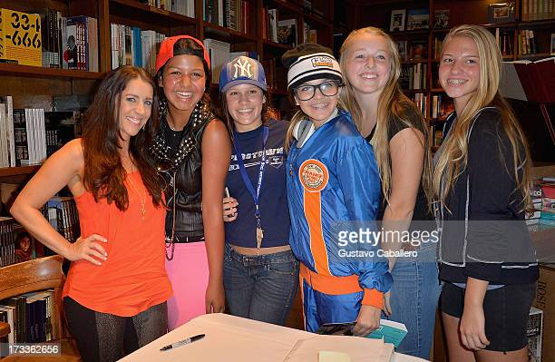 Pattie Mallette greets fans and signs copies of her book 'Nowhere But Up Teen Edition'at Books and Books on July 12 2013 in Coral Gables Florida