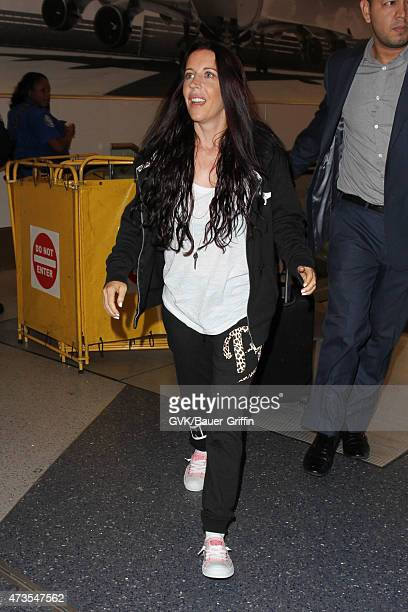 Pattie Mallette is seen at LAX on May 15 2015 in Los Angeles California