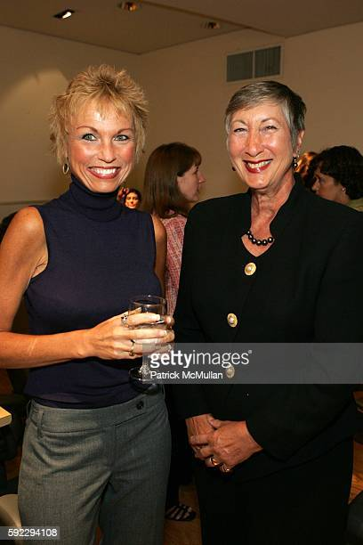 Pattie PetroneHoock and Ann Todd attend New York Citys 10th Annual Salute to Survivors In Honor of Breast Cancer Awareness Month at Ann Taylor on...