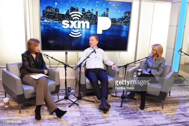 Pattie Sellers Governor of Connecticut Ned Lamont and Anne Lamont speak during SiriusXM Business Radio's 'Making A Leader' Series with Governor Ned...