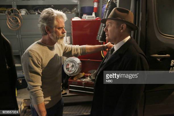 THE BLACKLIST 'Pattie Sue Edwards ' Episode 515 Pictured C Thomas Howell as Earl Fagen James Spader as Raymond 'Red' Reddington