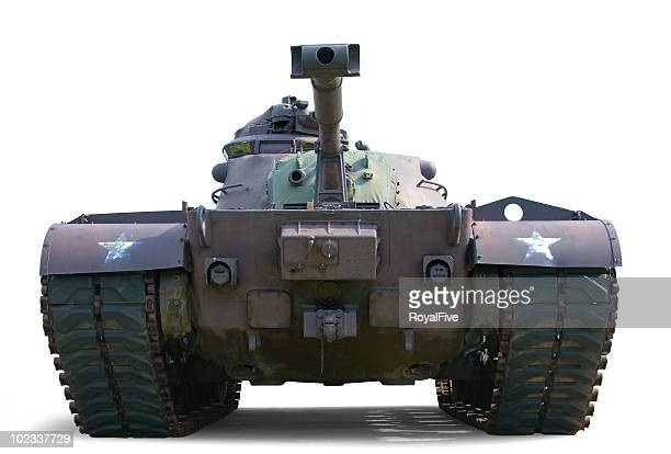 patton m48 tank - armored tank stock photos and pictures