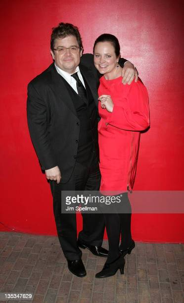 Patton Oswalt and Michelle McNamara attend the Young Adult world premiere after party at the Hudson Terrace on December 8 2011 in New York City