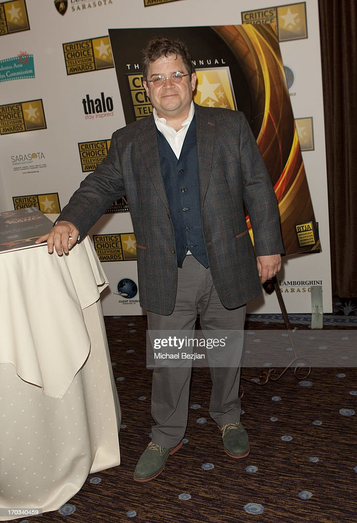 Patton Oswalt attends Critics' Choice Television Awards VIP Lounge on June 10, 2013 in Los Angeles, California.