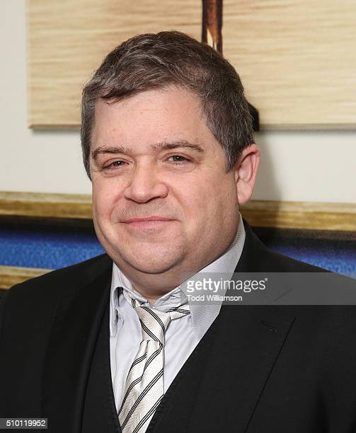 Patton Oswalt attends the 2016 Writers Guild Awards LA Ceremony at the Hyatt Regency Century Plaza on February 13 2016 in Los Angeles California