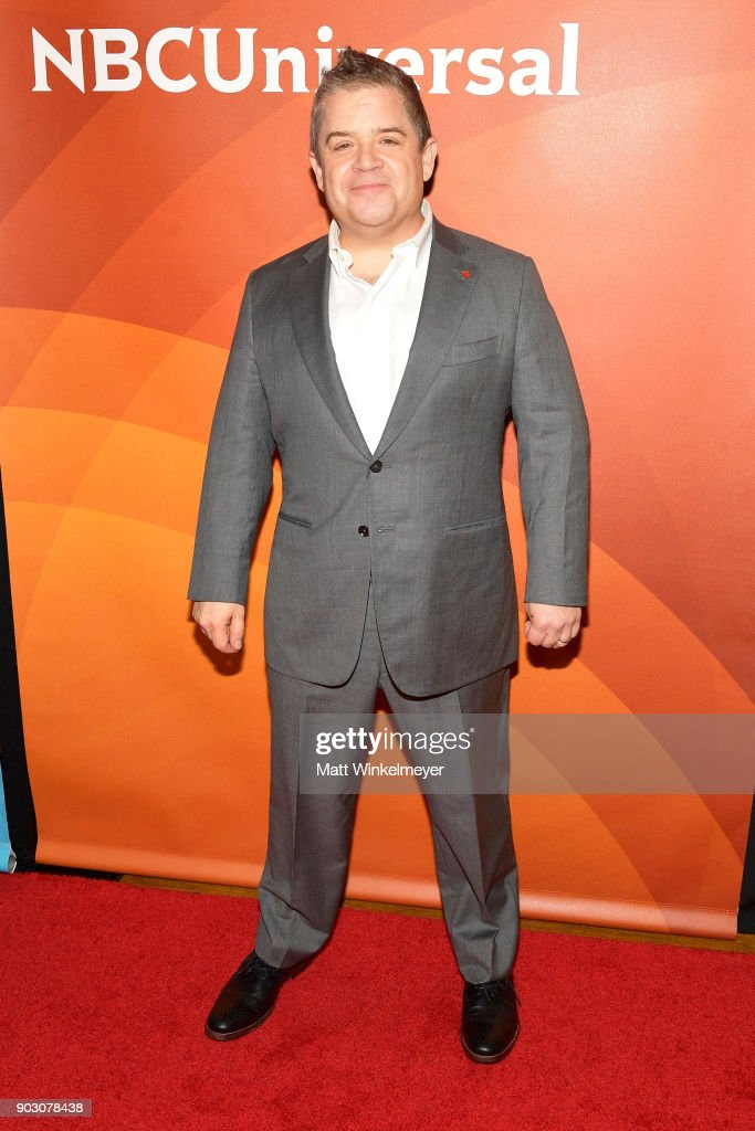 Patton Oswalt attends the 2018 NBCUniversal Winter Press Tour at The Langham Huntington, Pasadena on January 9, 2018 in Pasadena, California.