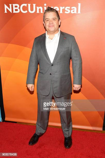 Patton Oswalt attends the 2018 NBCUniversal Winter Press Tour at The Langham Huntington Pasadena on January 9 2018 in Pasadena California