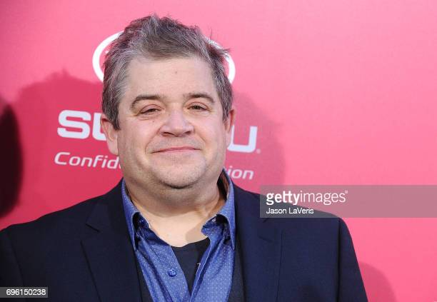 Patton Oswalt attends the premiere of 'Baby Driver' at Ace Hotel on June 14 2017 in Los Angeles California