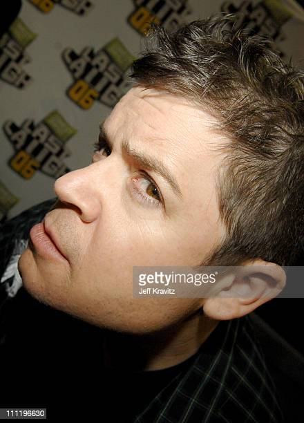 Patton Oswalt during Comedy Central Last Laugh '06 at Orpheum Theater in Los Angeles California United States