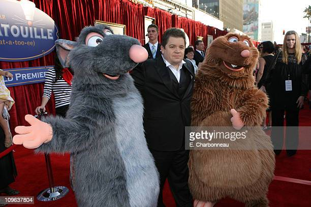 Patton Oswalt during The World Premiere of Disney/Pixar's 'Ratatouille' at Kodak Theater in Hollywood Calfornia United States