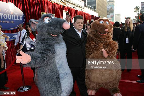 Patton Oswalt during The World Premiere of Disney/Pixar's Ratatouille at Kodak Theater in Hollywood Calfornia United States