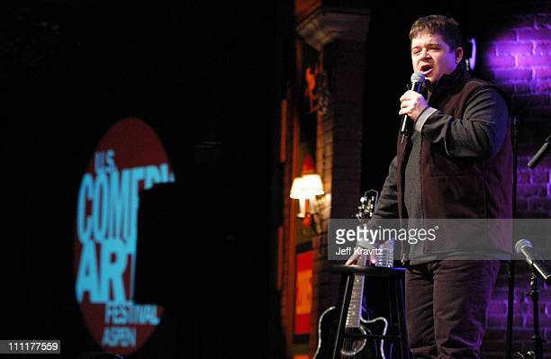 Patton Oswalt during US Comedy Arts Festival 2005 Sarah Silverman at St Regis Hotel in Aspen Colorado United States