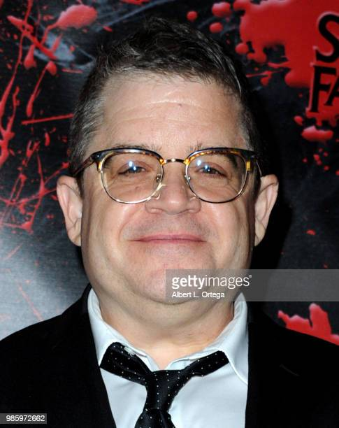 Patton Oswalt poses in the press room at the Academy Of Science Fiction Fantasy Horror Films' 44th Annual Saturn Awards at The Castaway on June 27...