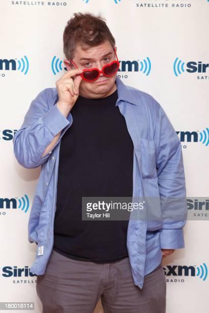 Patton Oswalt visits at SiriusXM Studios on September 6 2013 in New York City