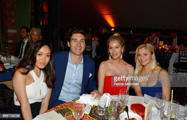 Patty Baer John Ballay Brittany Christian and Katleyn Peterson attend The Turtle Conservancy's 4th Annual Turtle Ball at The Bowery Hotel on April 17...