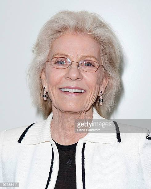 """Patty Duke attends a screening of """"The Miracle Worker"""" presented by the Film Society Of Lincoln Center at Walter Reade Theater on March 8, 2010 in..."""