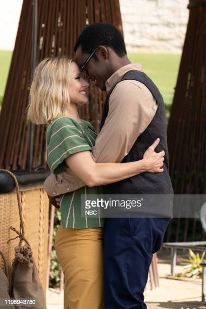 PLACE Patty Episode 412 Pictured Kristin Bell as Eleanor William Jackson Harper as Chidi