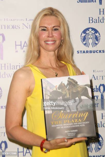 Patty Farmer attends Author's Night 2017 to benefit the East Hampton Library on August 12 2017 in East Hampton New York