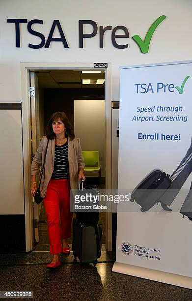 Patty Gilette a frequent flyer took advantage of the new TSA Pre Check Enrollment Center at Logan Airport She said that It was a fabulous experience...