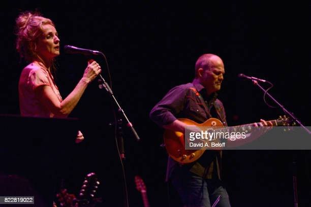 Patty Griffin and David Pulkingham perform live at The Sandler Center for the Performing Arts on July 25 2017 in Virginia Beach Virginia
