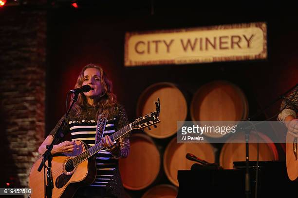 Patty Griffin performs at City Winery on October 30 2016 in New York City
