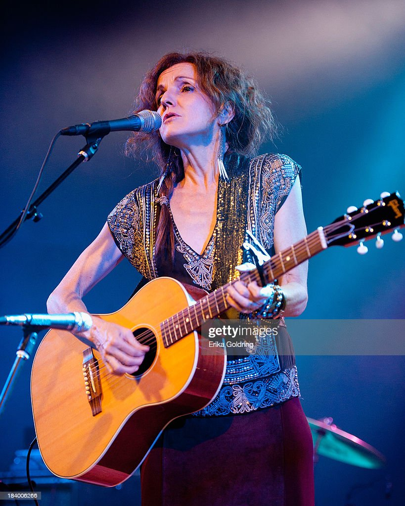 Patty Griffin performs at Stubbs on October 10, 2013 in Austin, Texas.