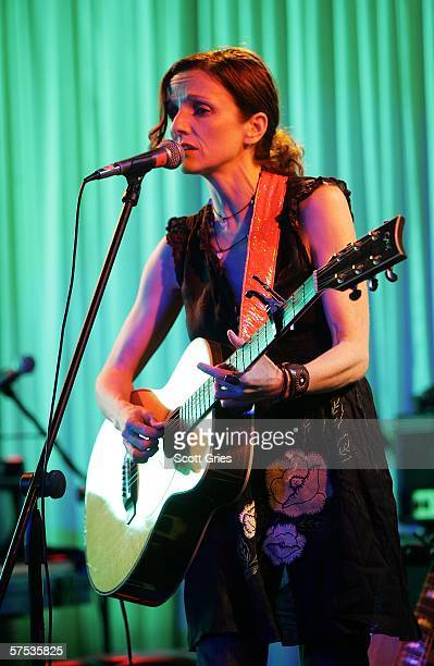 Patty Griffin performs at the Tribeca/ASCAP Music Lounge at the Canal Room May 4 2006 in New York City
