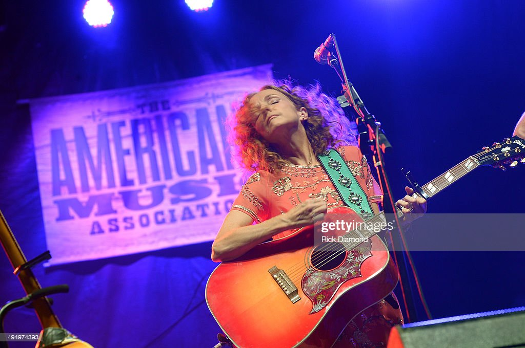 Patty Griffin performs during Americana's Cross County Lines at The Park at Harlinsdale Farm on May 31, 2014 in Franklin, Tennessee.