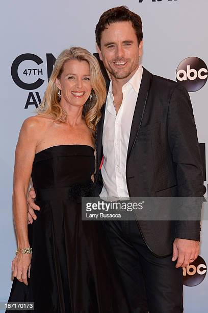 Patty Hanson and Charles Esten attend the 47th annual CMA Awards at the Bridgestone Arena on November 6 2013 in Nashville Tennessee