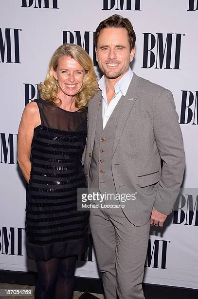 Patty Hanson and Charles Esten attend the 61st annual BMI Country awards on November 5 2013 in Nashville Tennessee