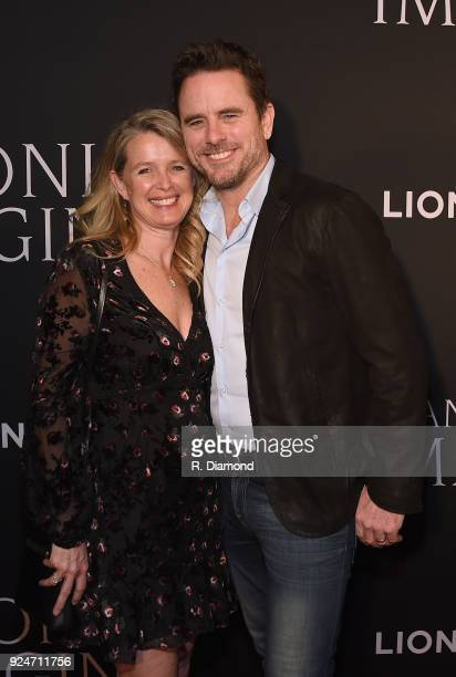 Patty Hanson and Charles Esten attend the I Can Only Imagine premiere at Schermerhorn Symphony Center on February 26 2018 in Nashville Tennessee