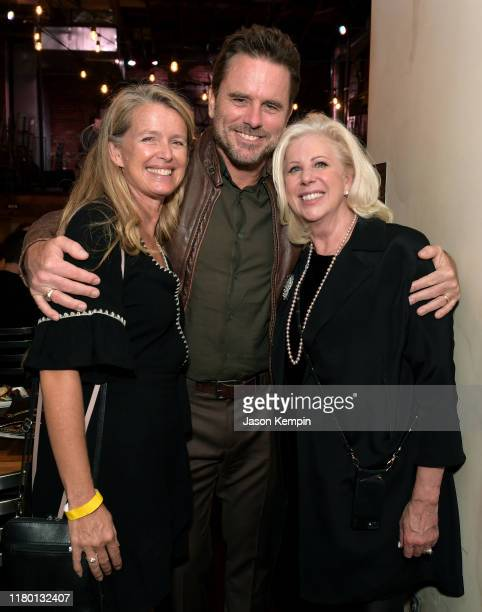 Patty Hanson Puskar Charles Esten and Director Callie Khouri attend a special screening and reception for Patsy Loretta presented by Lifetime on...