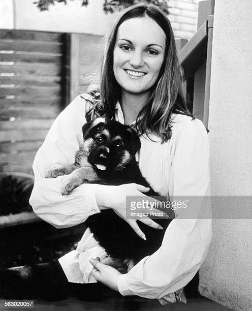 Patty Hearst at home circa 1979 in San Francisco, California.