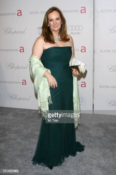 Patty Hearst during 15th Annual Elton John AIDS Foundation Oscar Party at Pacific Design Center in Los Angeles, California, United States.