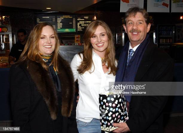 "Patty Hearst, Gillian Hearst and Bernard Shaw during ""The Ladykillers"" Special Screening - New York at Landmark's Sunshine Cinema in New York City,..."