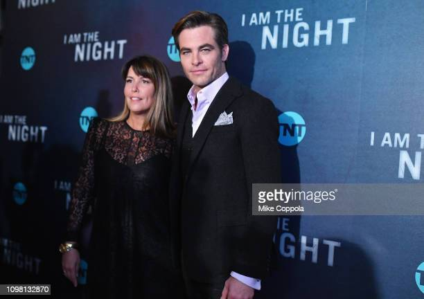 Patty Jenkins and Chris Pine attend the I Am the Night Premiere at Metrograph on January 22 2019 in New York City 484171