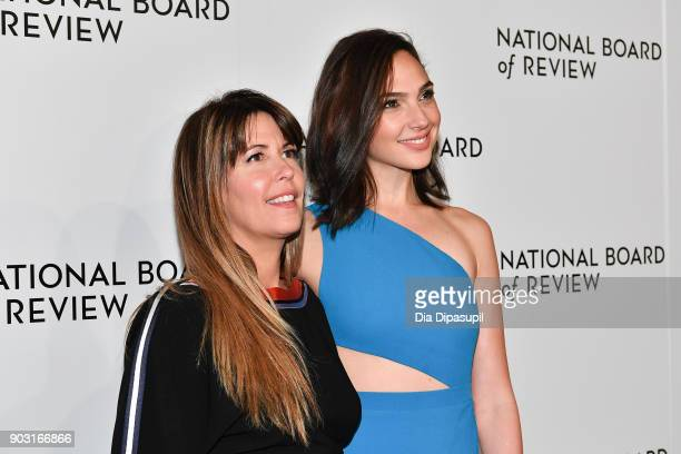 Patty Jenkins and Gal Gadot attend the 2018 National Board of Review Awards Gala at Cipriani 42nd Street on January 9, 2018 in New York City.