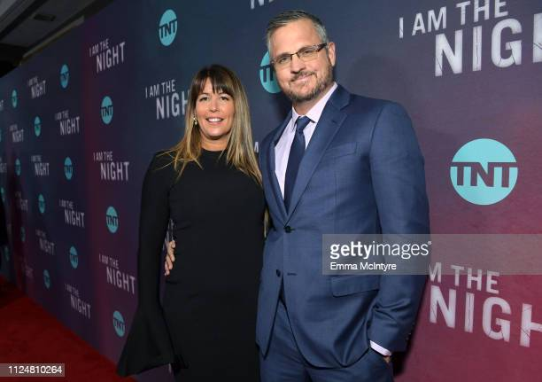 Patty Jenkins and Sam Sheridan attend the I Am The Night Los Angeles Premiere on January 24 2019 in Los Angeles California 484213
