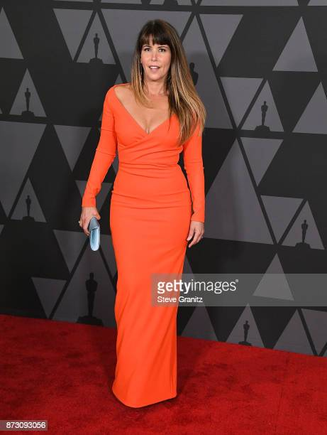Patty Jenkins arrives at the Academy Of Motion Picture Arts And Sciences' 9th Annual Governors Awards at The Ray Dolby Ballroom at Hollywood Highland...