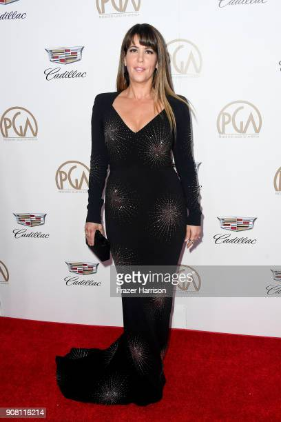 Patty Jenkins attends the 29th Annual Producers Guild Awards at The Beverly Hilton Hotel on January 20 2018 in Beverly Hills California